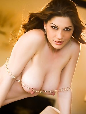 Kimberly Jane proudly displays her gorgeous alabaster, white natural breasts and the large pink nipples that are perfect for lots of wet tongue play a